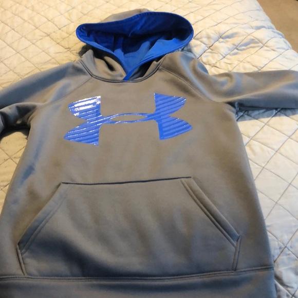 84a823dec Under Armour hoodie for boys. Youth Medium. M_5bacc895194dadd83e2e32bb